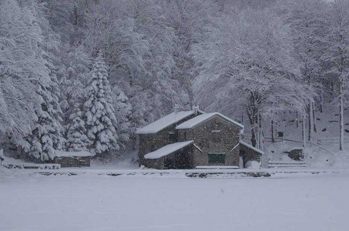 Condizioni neve e ghiaccio Appennino Settentrionale - Week 6