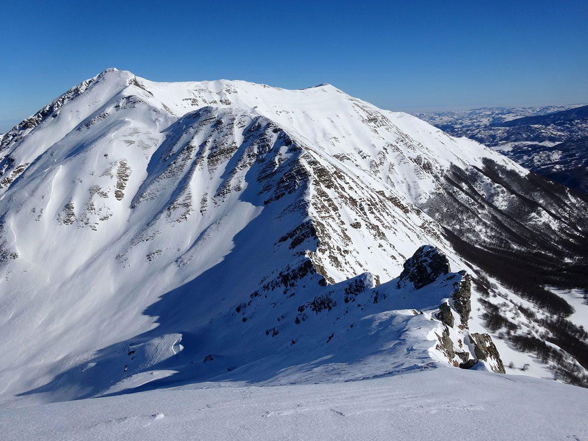 Dalla cima del Monte Alto