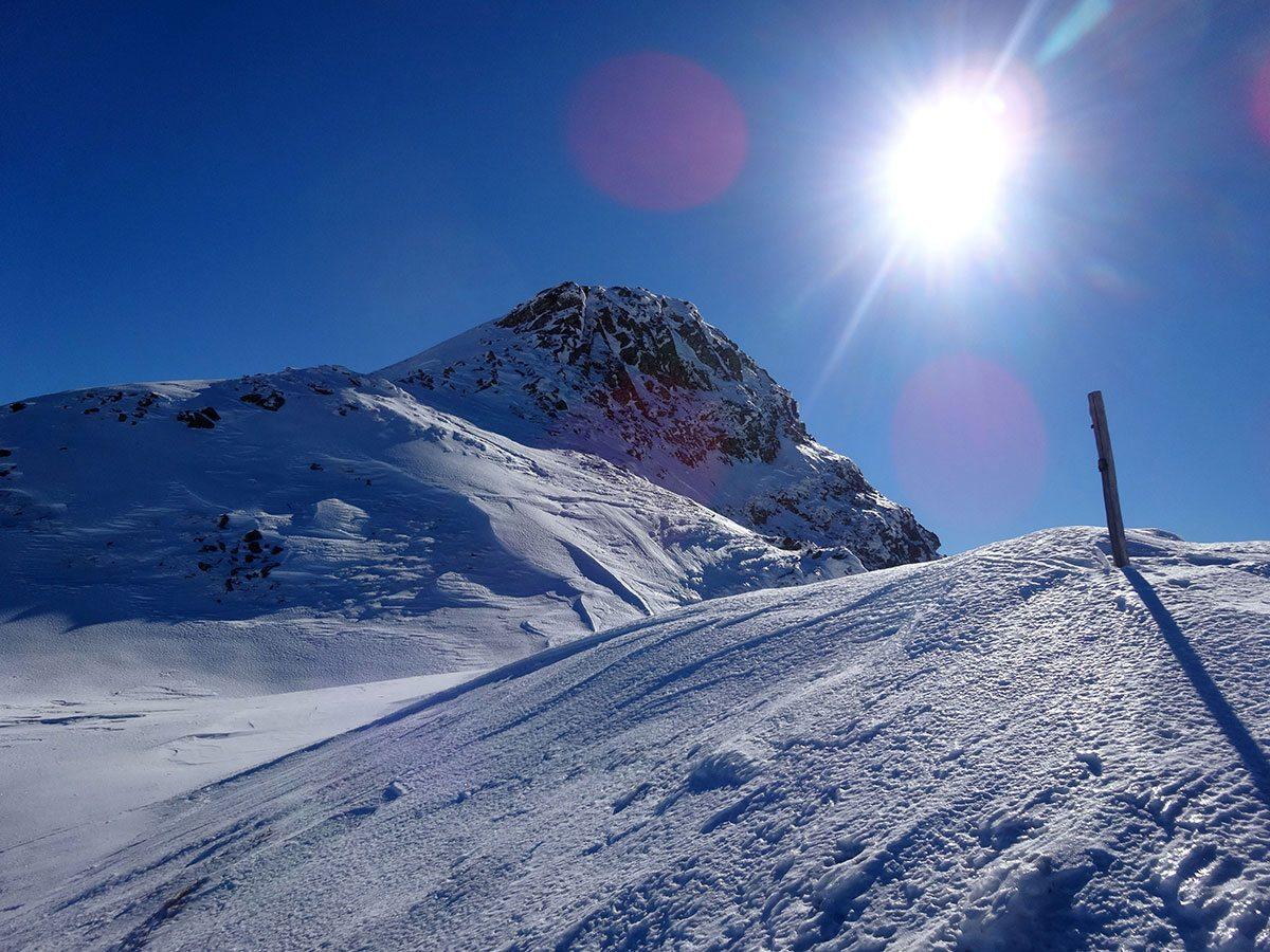 Verso il Monte Alto