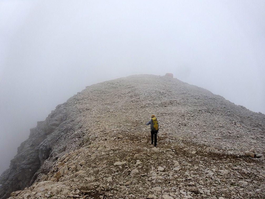 Nebbia in cima