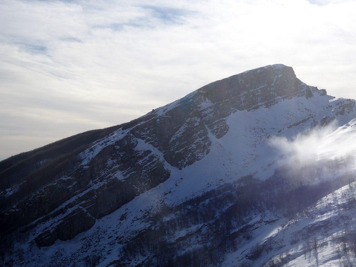 La paretina di Rocca Pianaccia