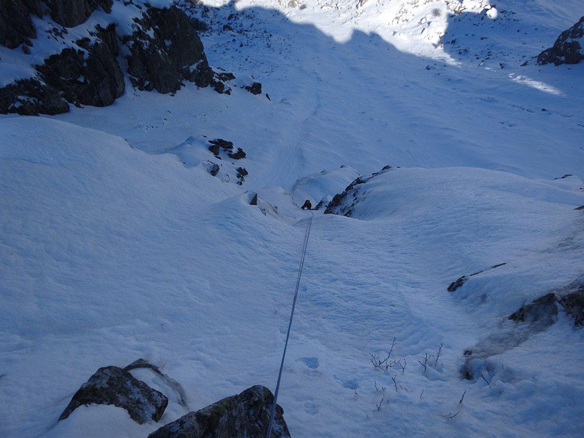 1° tiro di Looking for gully