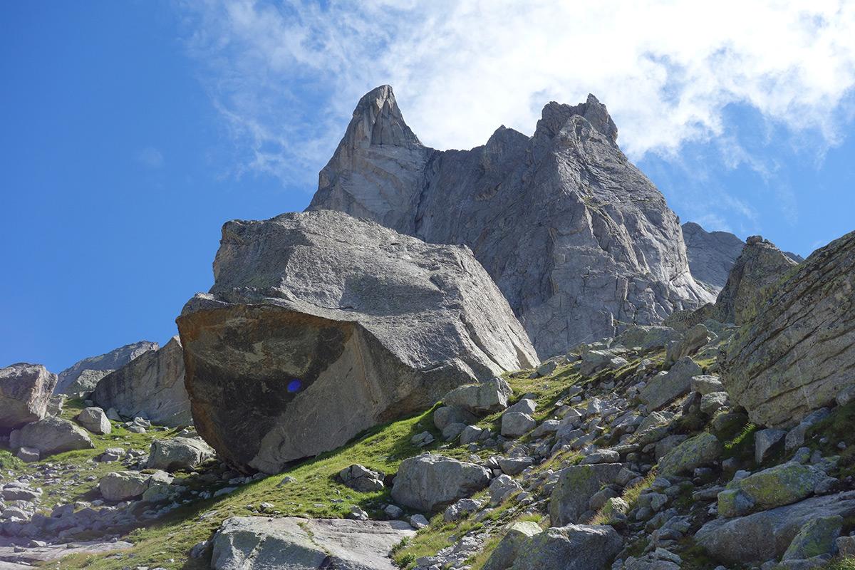 L'avancorpo meridionale del Pizzo Torrone Occidentale