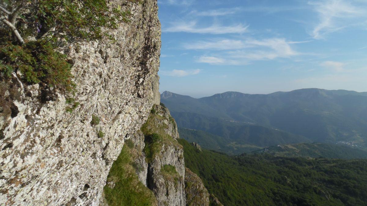 Panorama verso il monte Penna
