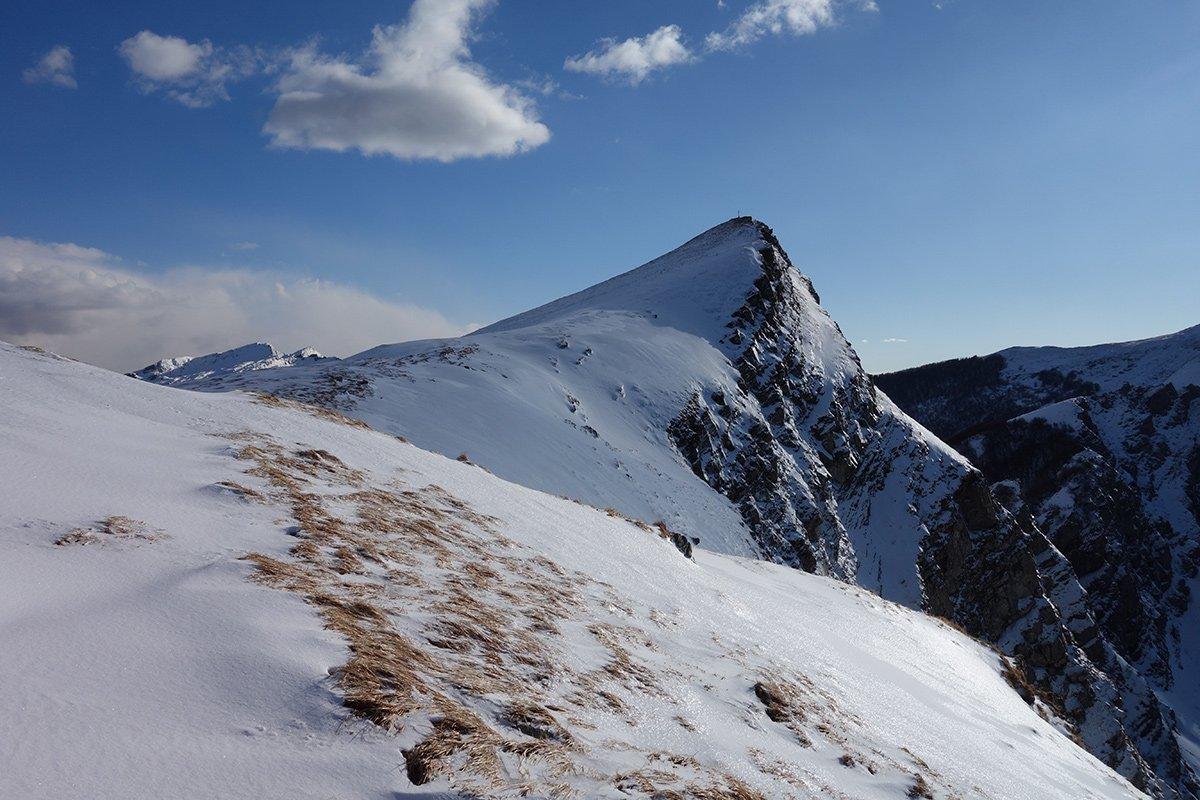 Verso la cima del Roccabiasca