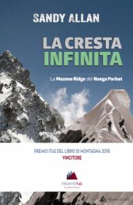 Book Cover: LA CRESTA INFINITA. La Mazeno Ridge del Nanga Parbat