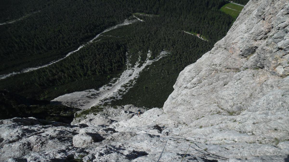 Punta Fiames - Spigolo Jori