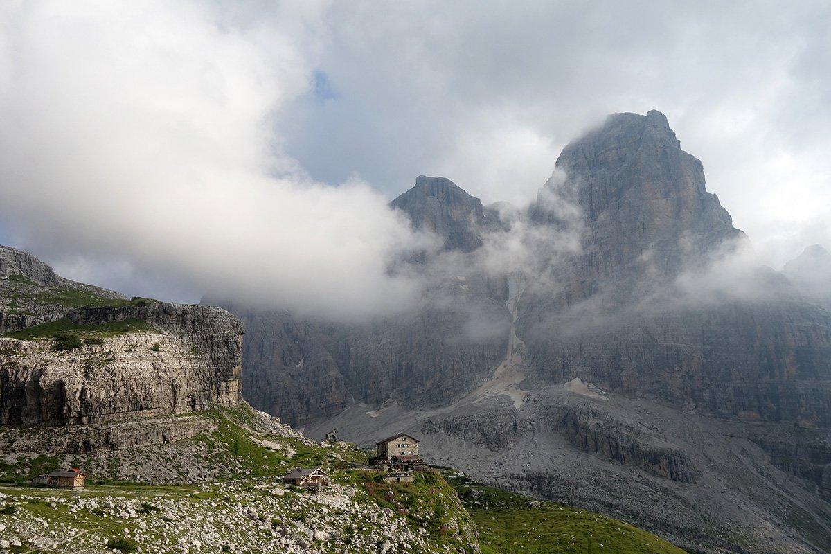Nuvole sul Brentei