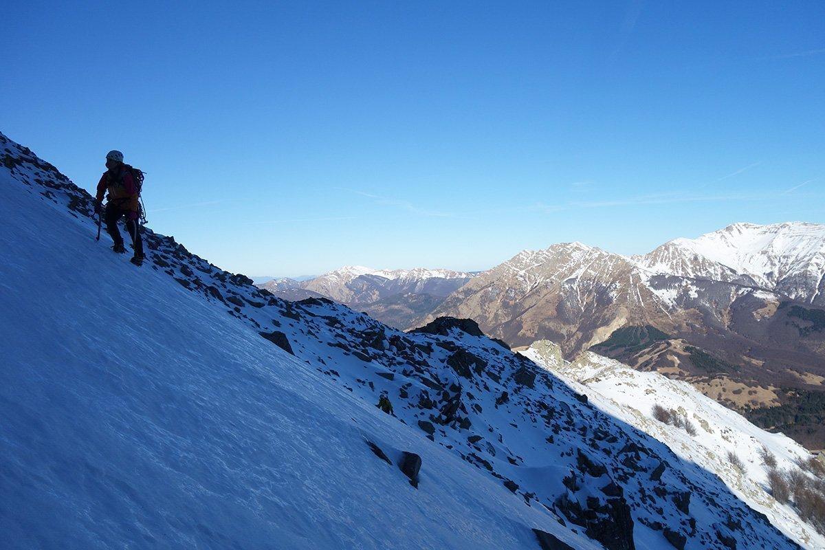 Scorci verso l'Alpe di Succiso